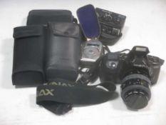 Cameras: Rollei 35T with Tessar 3.5/40 lens; Nikon Coolpix 990; Petri 7s; Canon Lens EF 85mm 1:1.