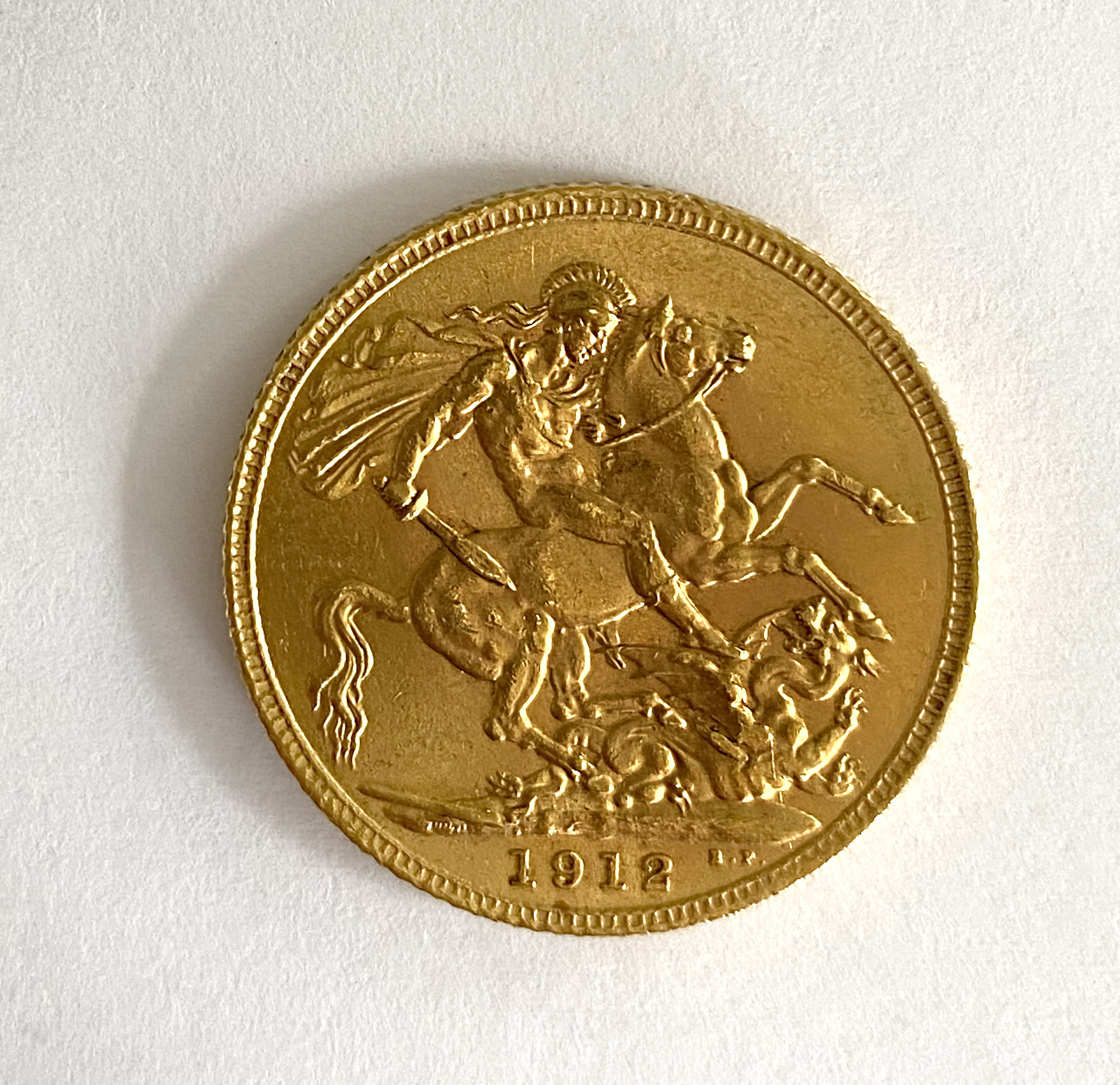 A 'Kings Head' full sovereign, - Image 2 of 2