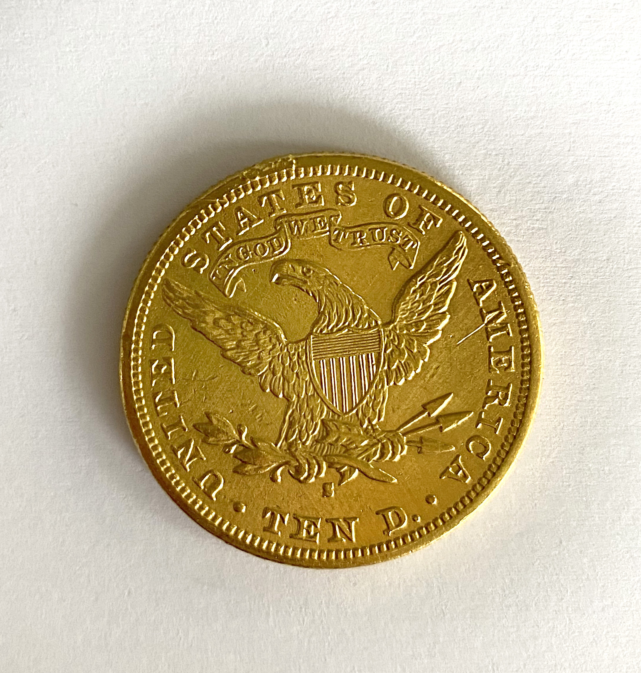 A United States of America $10 coin, - Image 2 of 2