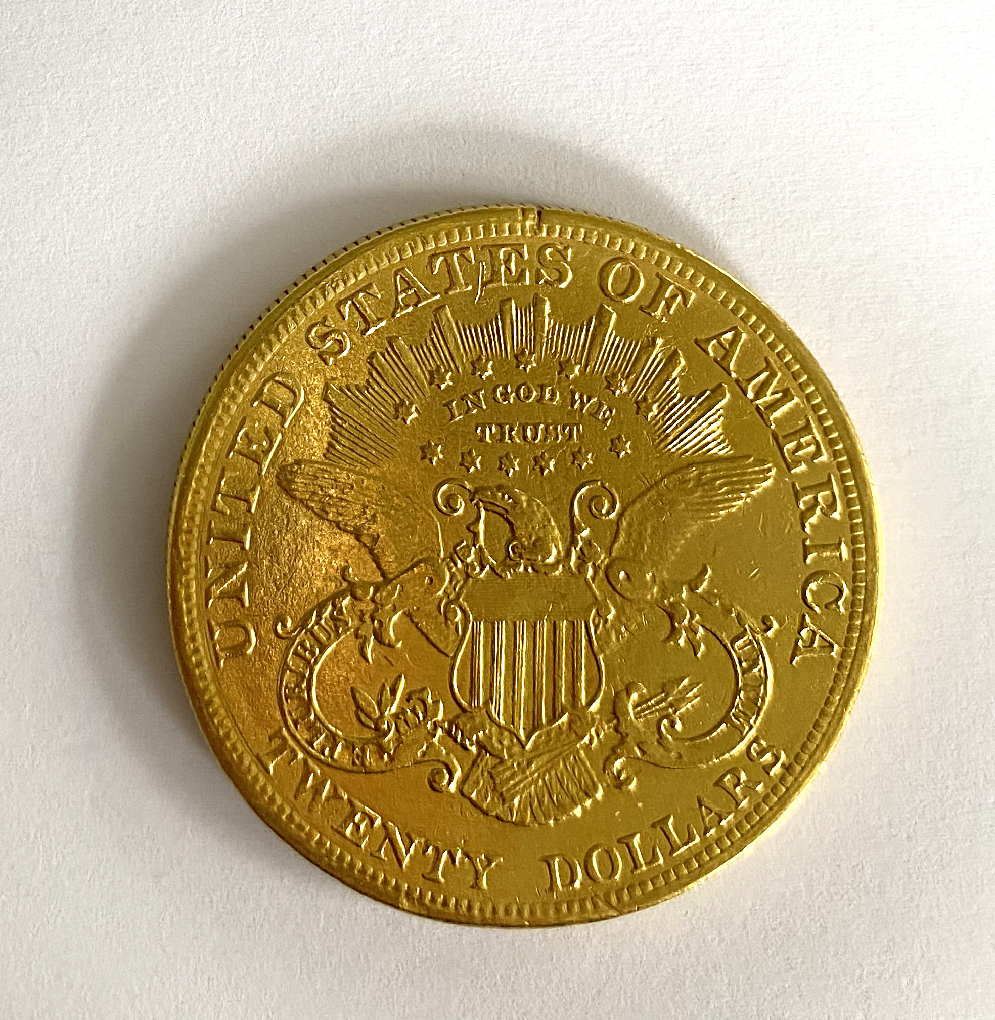A United States of America $20 coin, - Image 2 of 2