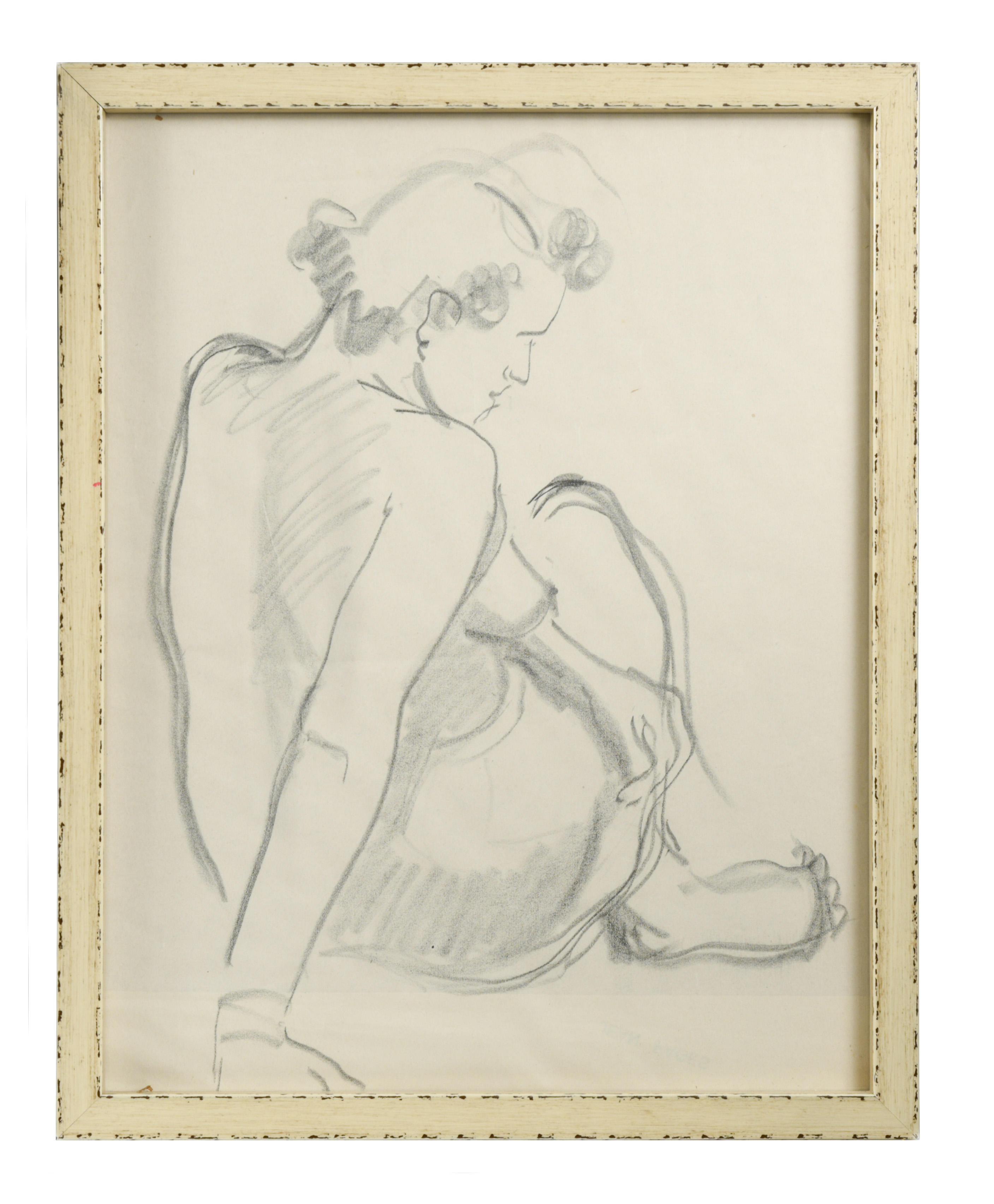 § Two 20th century nude studies to include: - Image 2 of 2