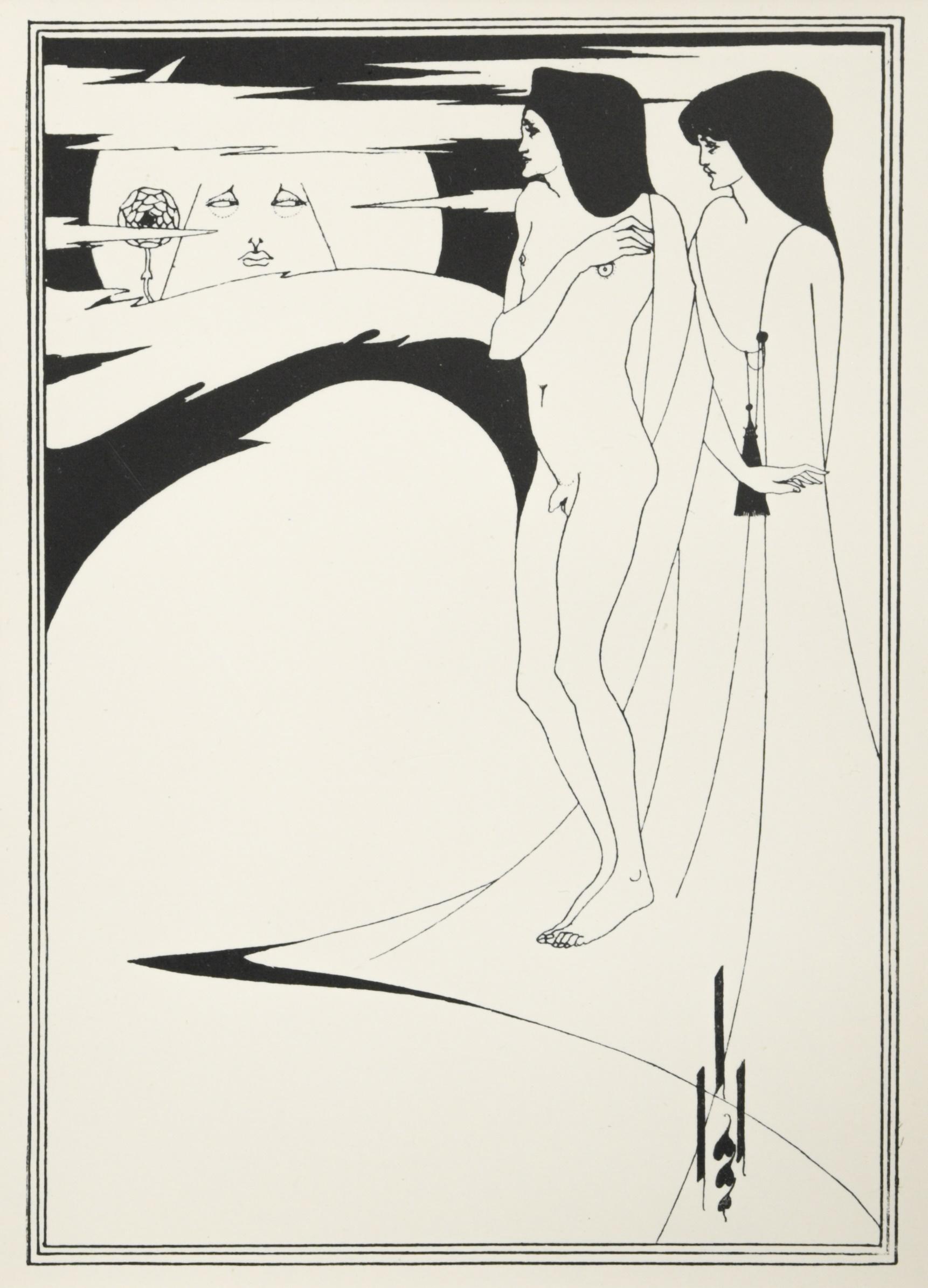 Aubrey Beardsley (British 1872-1898) - Image 2 of 2
