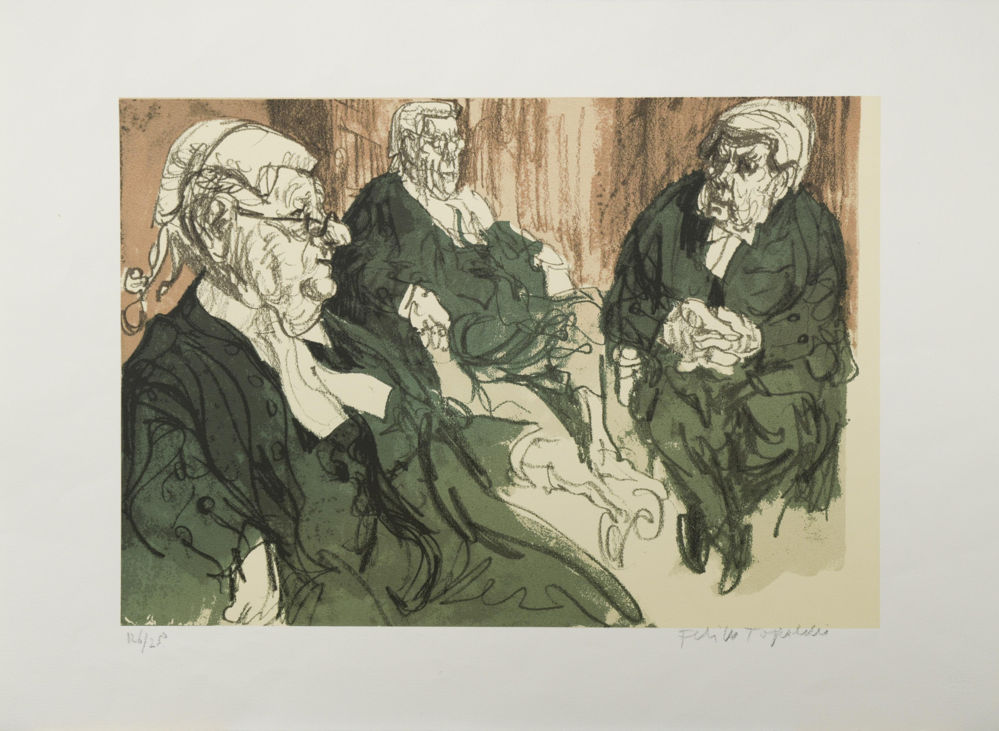 § Feliks Topolski RA (British Polish 1907-1989)