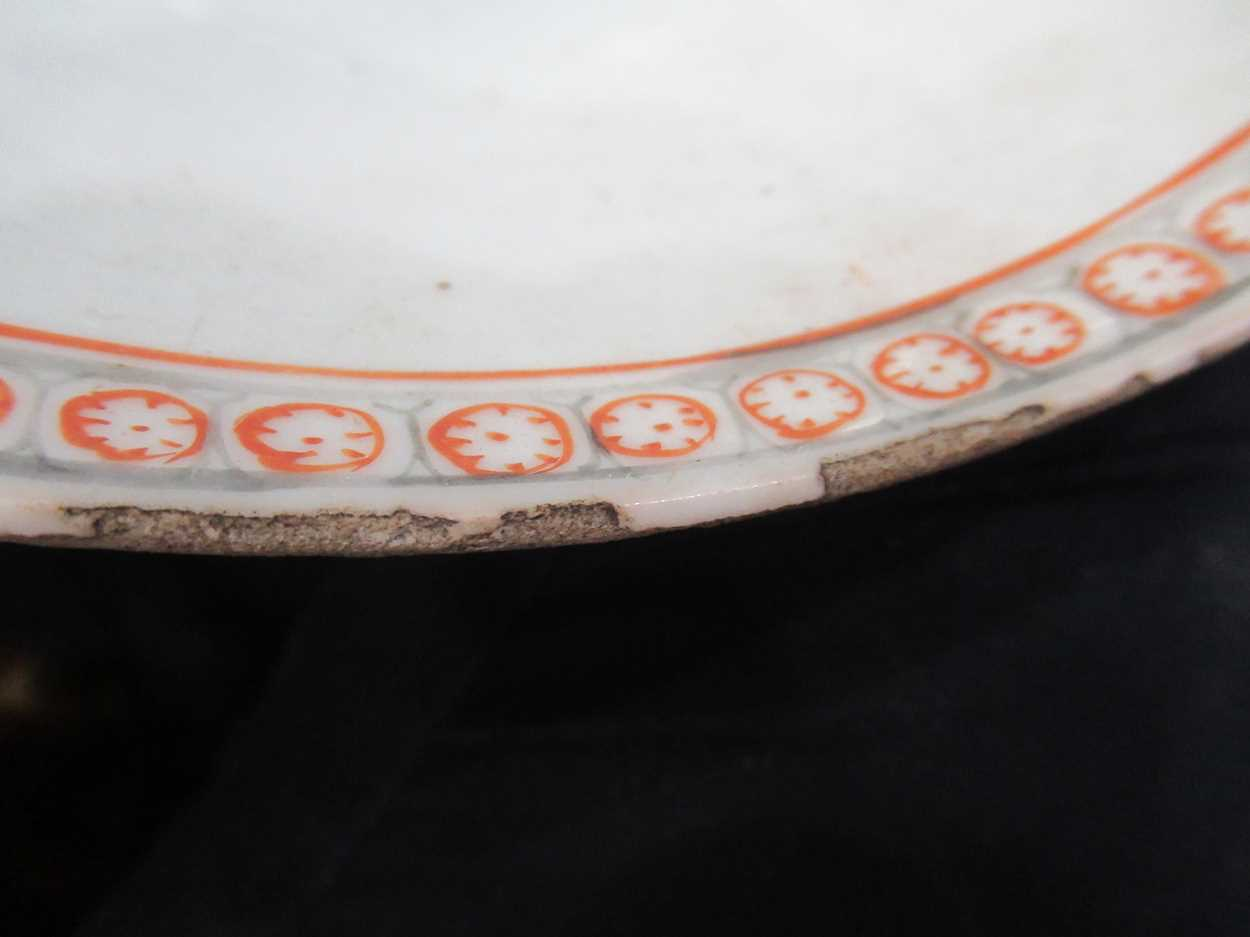 Various ceramic jars, plates and bowls (qty)Condition report: Marking and fading to gilt and pattern - Image 28 of 34