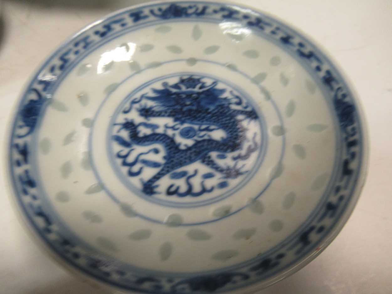 Various ceramic jars, plates and bowls (qty)Condition report: Marking and fading to gilt and pattern - Image 10 of 34