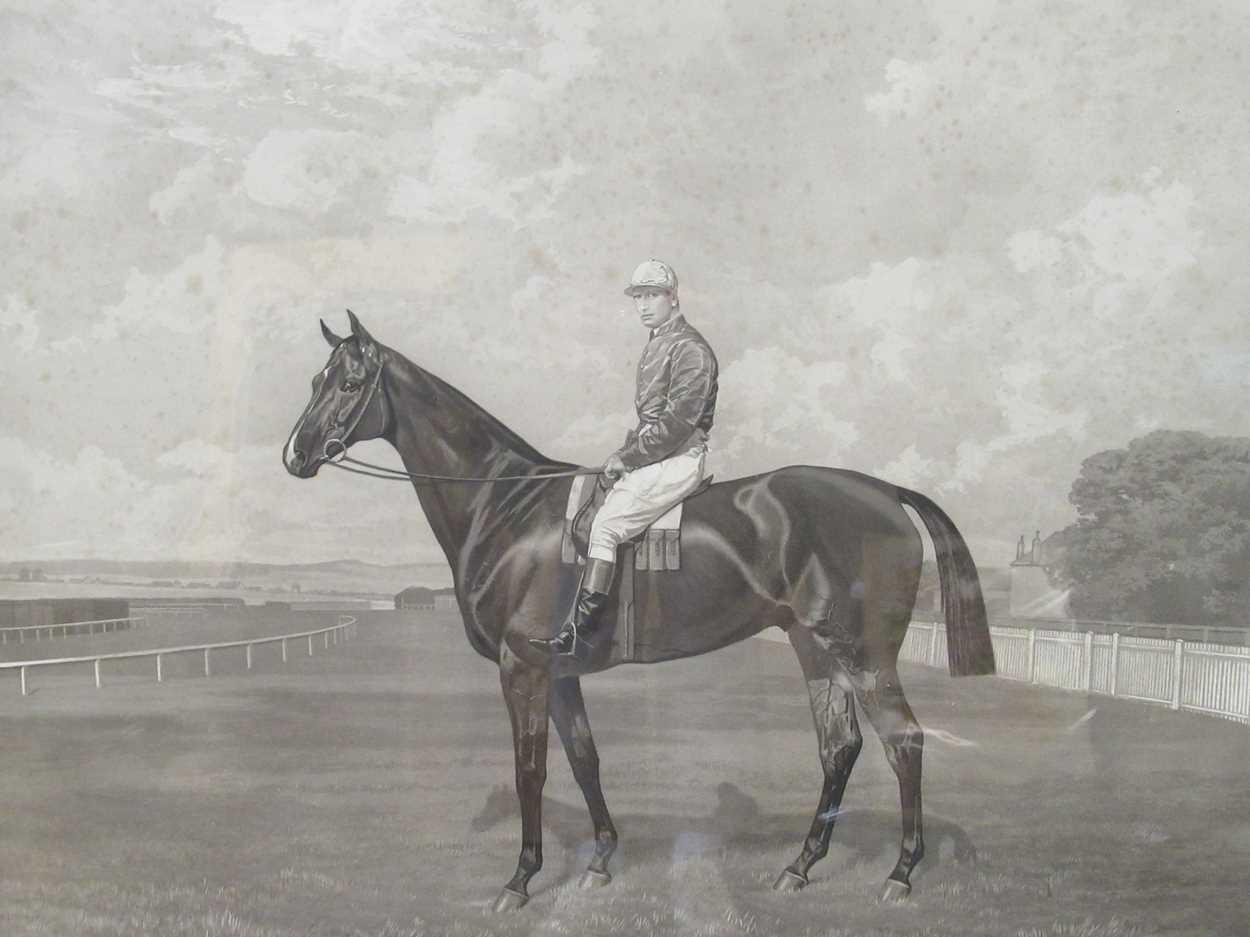 Emil Adam (Germann1843-1924) Manifesto, 1899, Newmarket engraving of the dual Grand National winner,