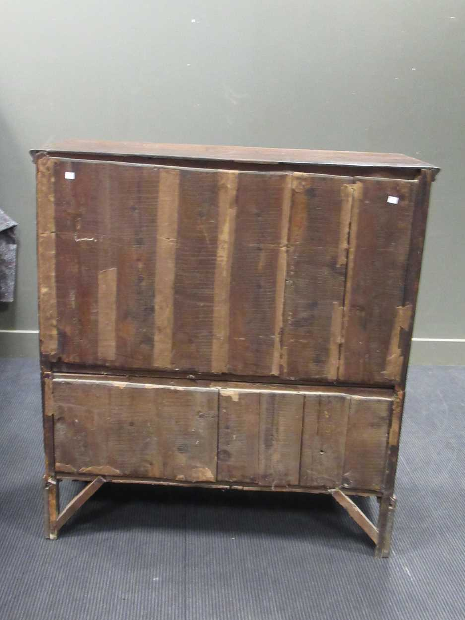 A 19th century mahogany chest of two short and four long graduated drawers, 121 x 111 x 49cm - Image 5 of 7