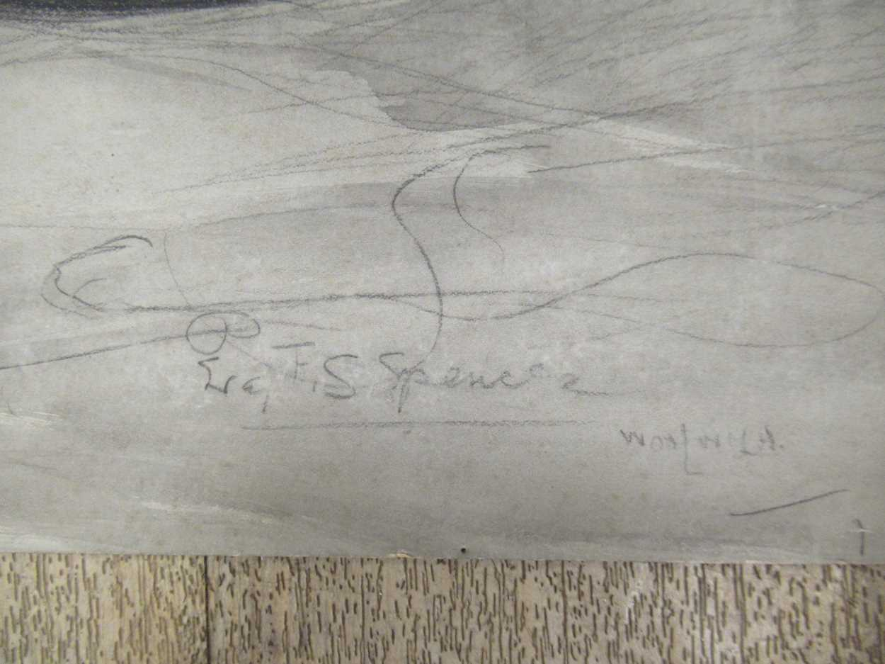 Percy F S Spence (1868 - 1933), Addressing sledge hammers and marking barrels; packing leather - Image 3 of 4
