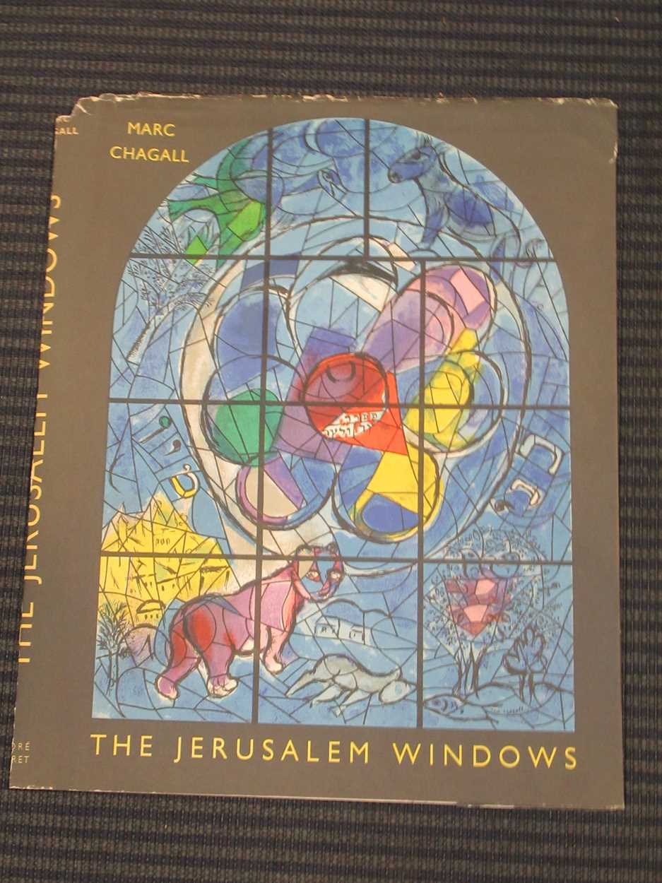Two copies of the front and rear covers of The Jerusalem Window by Marc Chagall, 33.5 x 27.5cm; - Image 16 of 16
