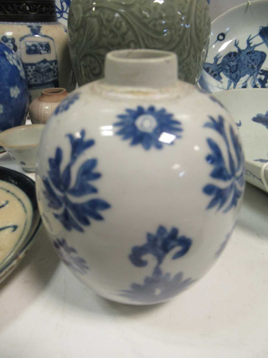 Various ceramic jars, plates and bowls (qty)Condition report: Marking and fading to gilt and pattern - Image 3 of 34
