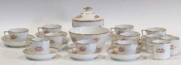 A Regency tea service, possibly Copeland