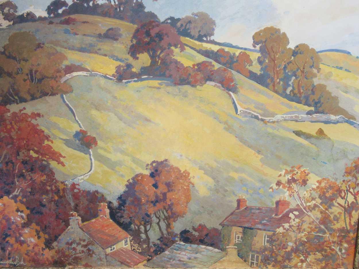 Fred Hammersley Ball (British 1879-1939), Near Ashover, Derbyshire, signed 'Hammersley Ball' (