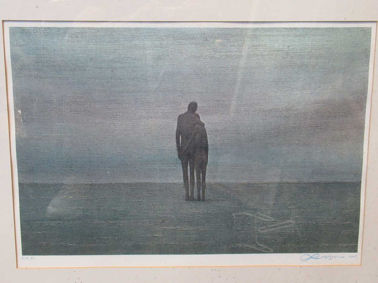 Two 20th century prints, to include: Jean Carzou (Armenian, 1907-2000), St-Paul-de-Vence, signed and - Image 2 of 10