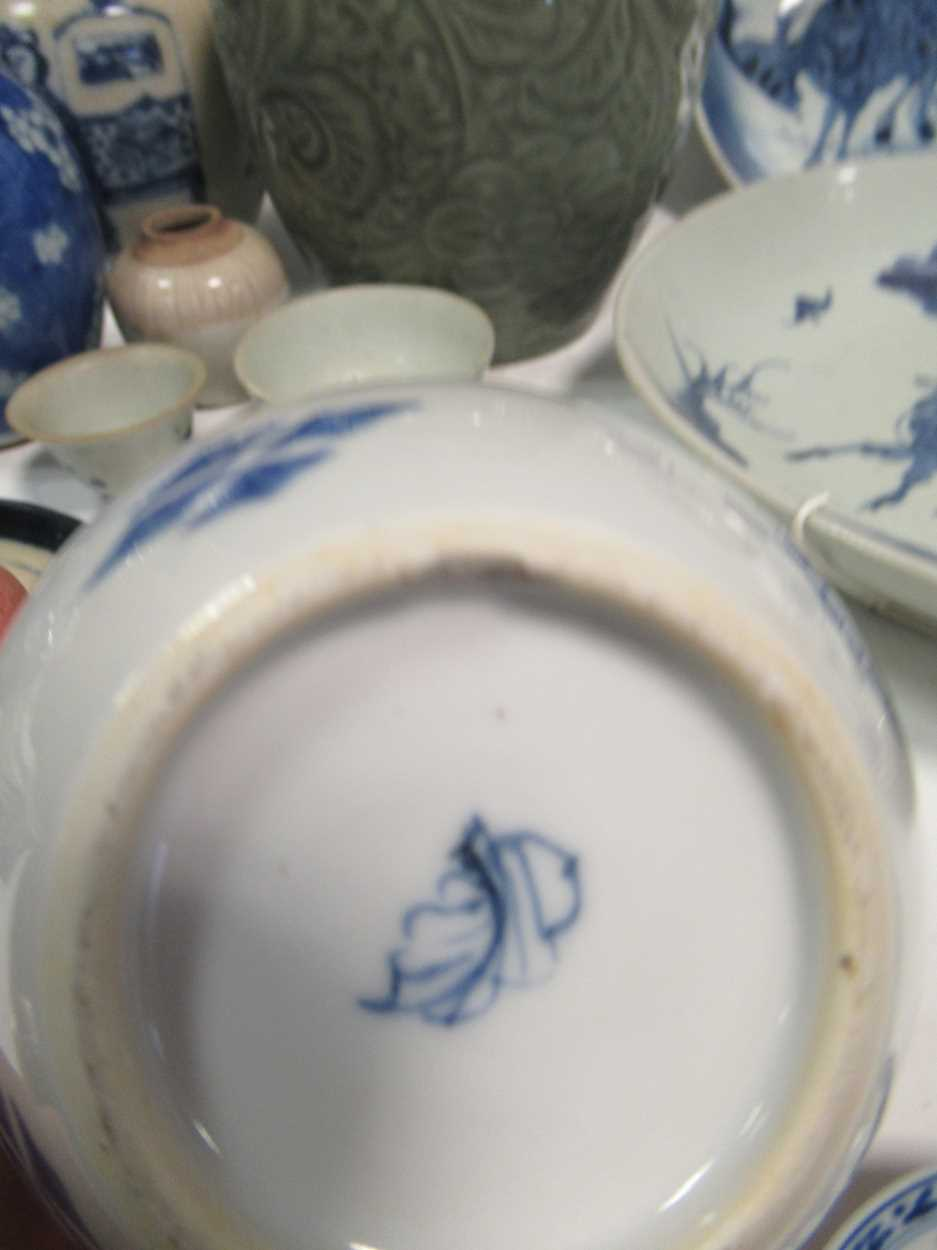 Various ceramic jars, plates and bowls (qty)Condition report: Marking and fading to gilt and pattern - Image 4 of 34