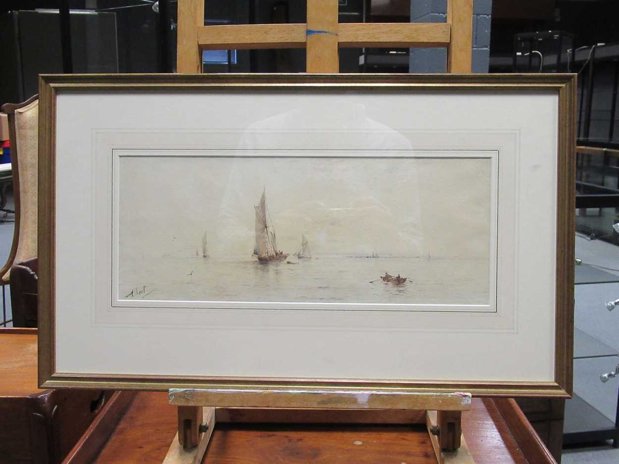 """Samuel H Phillips, Salvage at a shipwreck, signed lower left """"Samuel H Phillips 1906"""", - Image 4 of 8"""