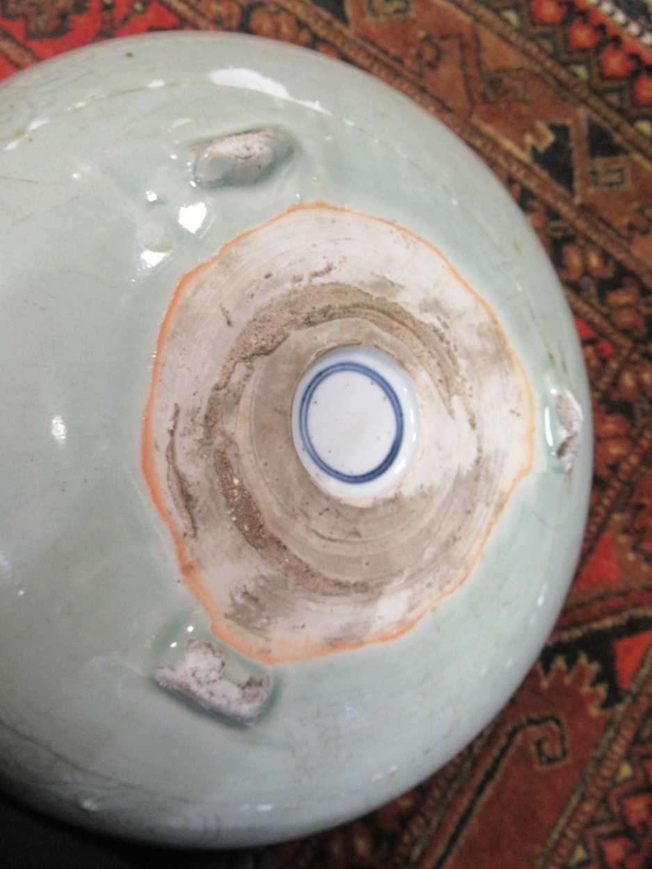 Various ceramic jars, plates and bowls (qty)Condition report: Marking and fading to gilt and pattern - Image 14 of 34