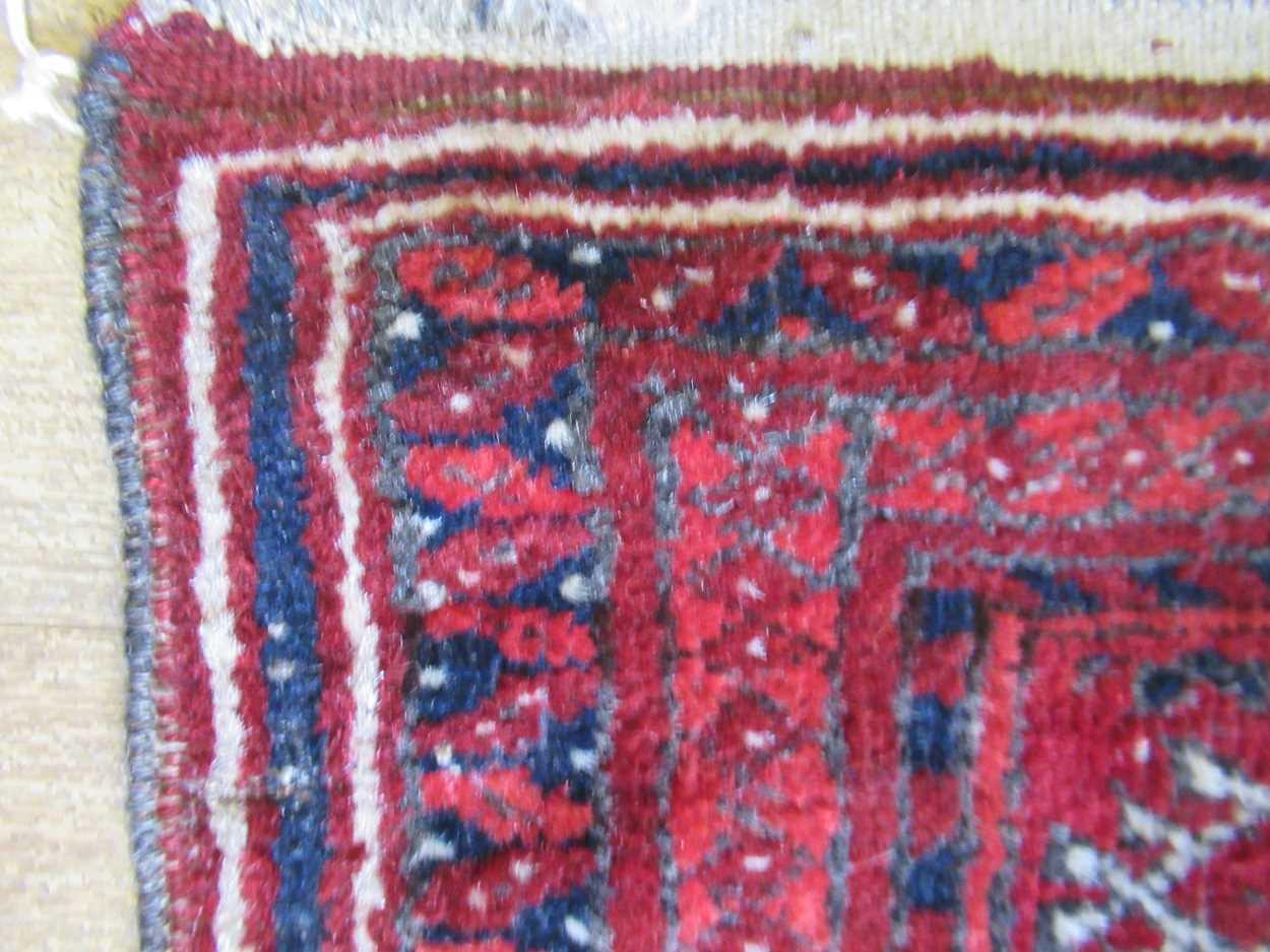 An early 20th century Beluchi prayer rug - Image 3 of 4