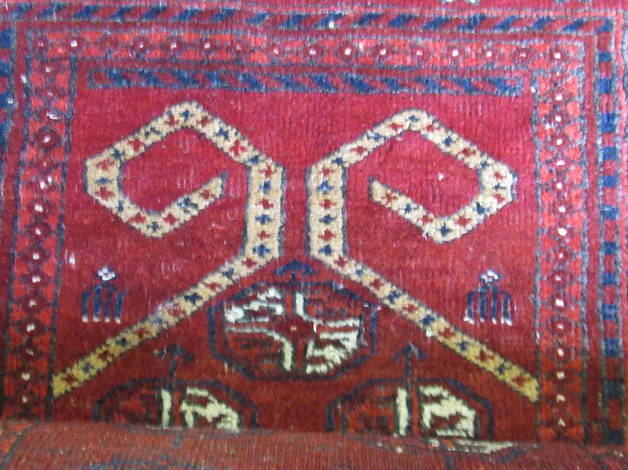 An early 20th century Beluchi prayer rug - Image 2 of 4