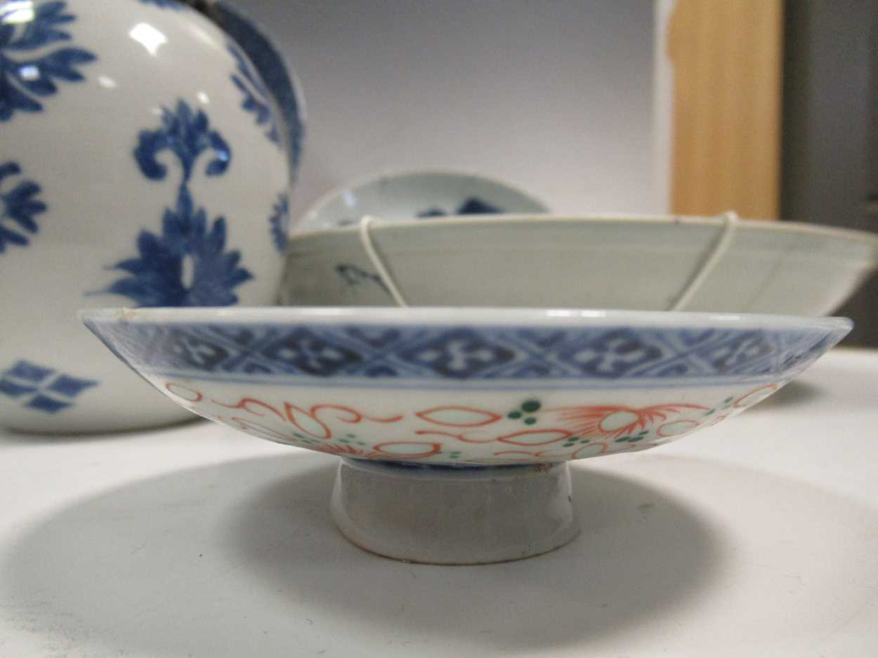Various ceramic jars, plates and bowls (qty)Condition report: Marking and fading to gilt and pattern - Image 8 of 34