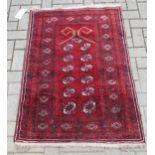 An early 20th century Beluchi prayer rug