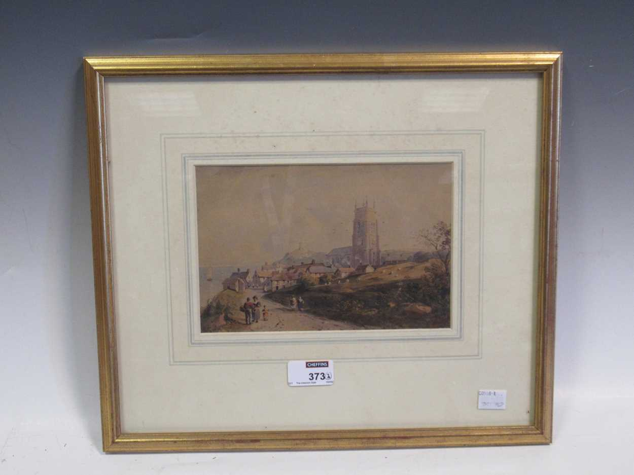 A watercolour of St Ives bridge by J A Temple, dated 1921, 21 x 31cm and another watercolour coastal - Image 10 of 10