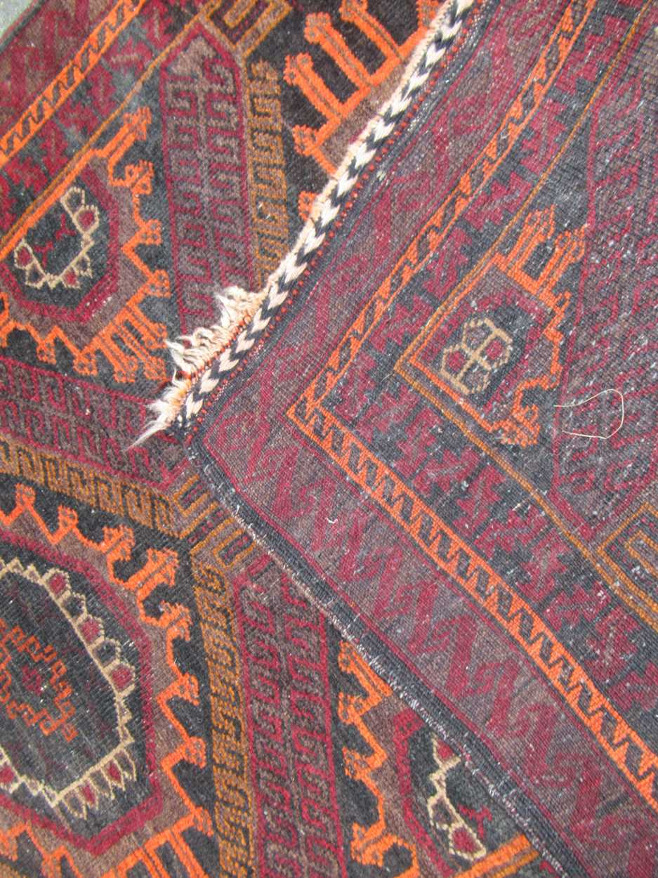 2 beluchi rugs 158 x 100cm (largest)Condition report: Condition very goodPile excellent on both - Image 4 of 5