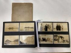 Cyprus, Greece and The Holy Land, ink manuscript journal entitled 'Notes of a Holiday in Cyprus by