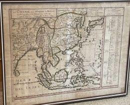 Pierre Duval, La Chine avec L'Empire du Mogol, les Presqu-Isles et les Isles de l'Asie, hand