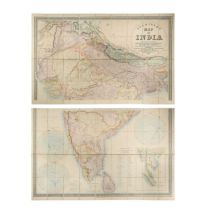 INDIA. STANFORD (Edward) Stanford's Map of India, based on the surveys executed by order of the