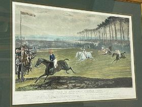 Charles Hunt after Francis Calcraft Turner (1795-1865), Vale of Aylesbury Steeplechase, 1836, plates
