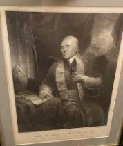 Cardinals and Popes. Collection of portrait prints and engravings of English Cardinals and