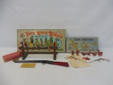 An early shooting game 'The Five Wise Birds', plus an early Duck Shooting game, an H.P.H. series.