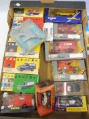 A quantity of boxed die-cast vehicles to include 1:43 scale Vanguards, Corgi etc.