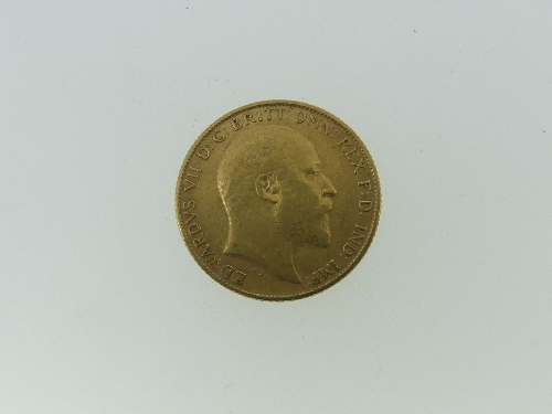 An Edwardian gold Half Sovereign, dated 1905. - Image 2 of 2