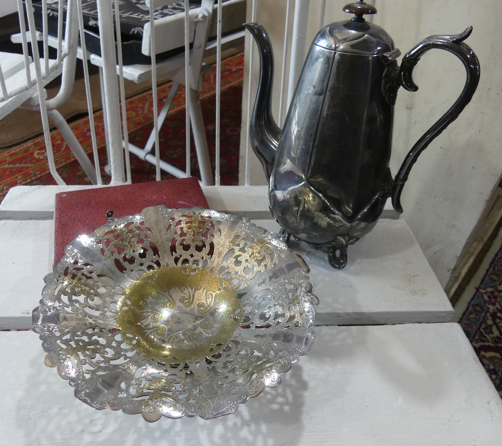 A quantity of Metalwares; comprising a silver Lincoln Imp spoon, several continental silver - Image 2 of 4