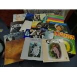 Vinyl Records; A quantity of mainly original LP's, including Bob Dylan 'Self Portrait', on CBS