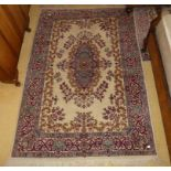 A pair of Persian style Hearth Rugs, each 78in (198cm) long x 50in (127cm) wide (2)