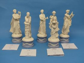 A small quantity of Wedgwood; The Classical Muses Collection;comprisingEuterpe, limited edition