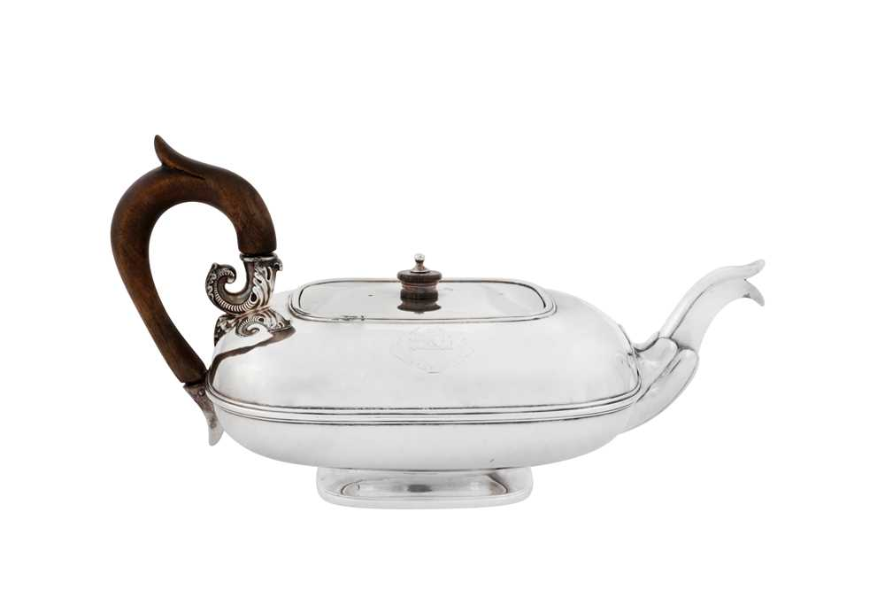 A mid- 19th century Dutch silver bachelor teapot, Amsterdam 1842 by Theodorous Gerardus Bentveld (17