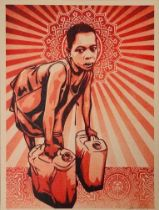 SHEPARD FAIREY (AMERICAN B. 1970)
