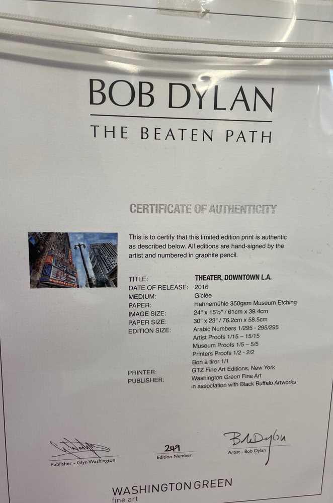BOB DYLAN (AMERICAN B. 1941) - Image 4 of 4