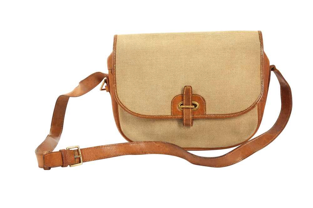 Hermes Beige Balle de Golf Crossbody Bag