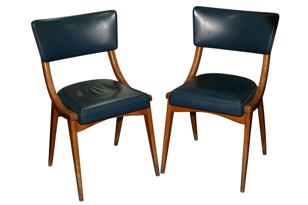 BENCHAIRS OF STOE, TWO PAIRS OF SIDE CHAIRS, CIRCA 1960S - Image 8 of 8
