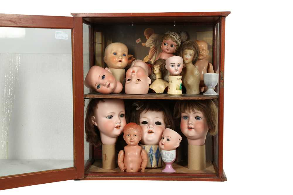 DOLLS: AN ARMAND MARSEILLE 390 BISQUE DOLL HEAD, EARLY 20TH CENTURY - Image 8 of 15