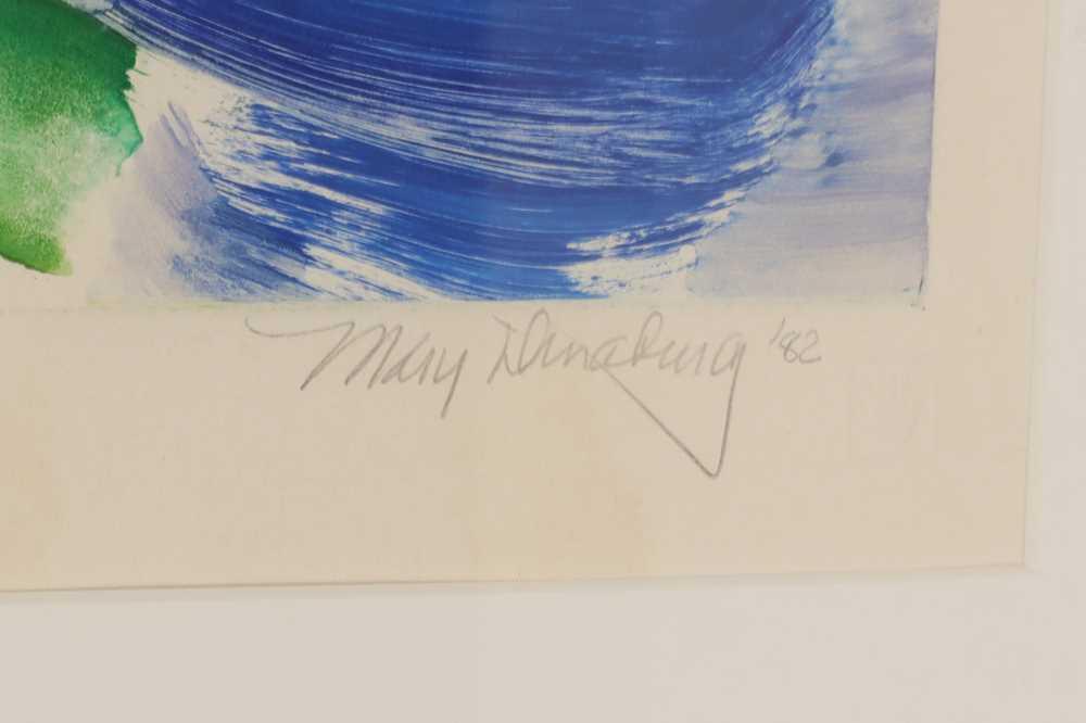 MARY DINABURG (LATE 20TH CENTURY AMERICAN) - Image 2 of 3