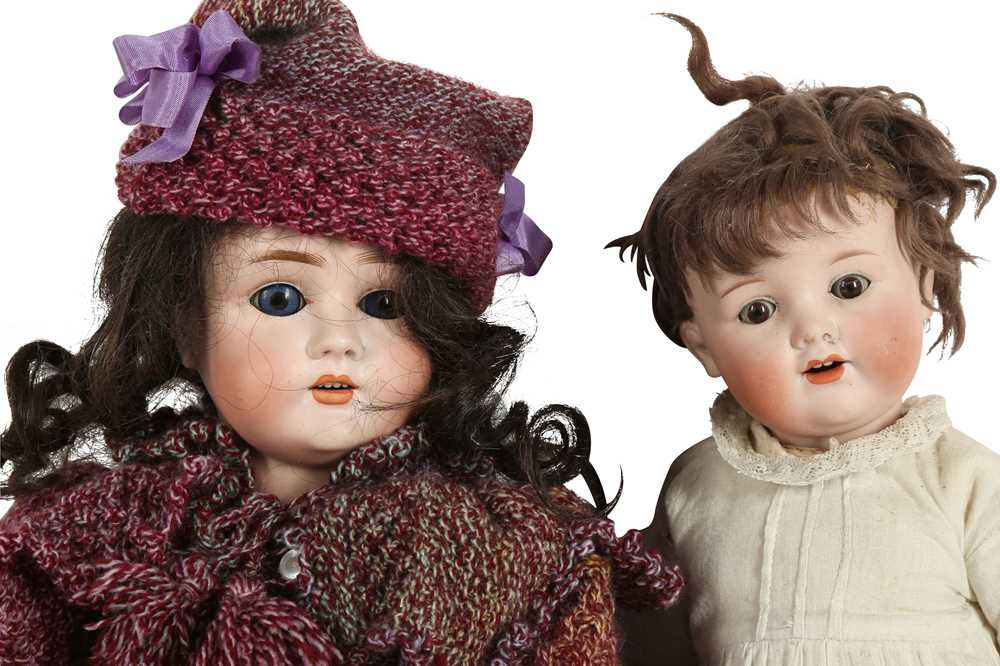 DOLLS: AN ARMAND MARSEILLE BISQUE HEAD DOLL, EARLY 20TH CENTURY - Image 3 of 4