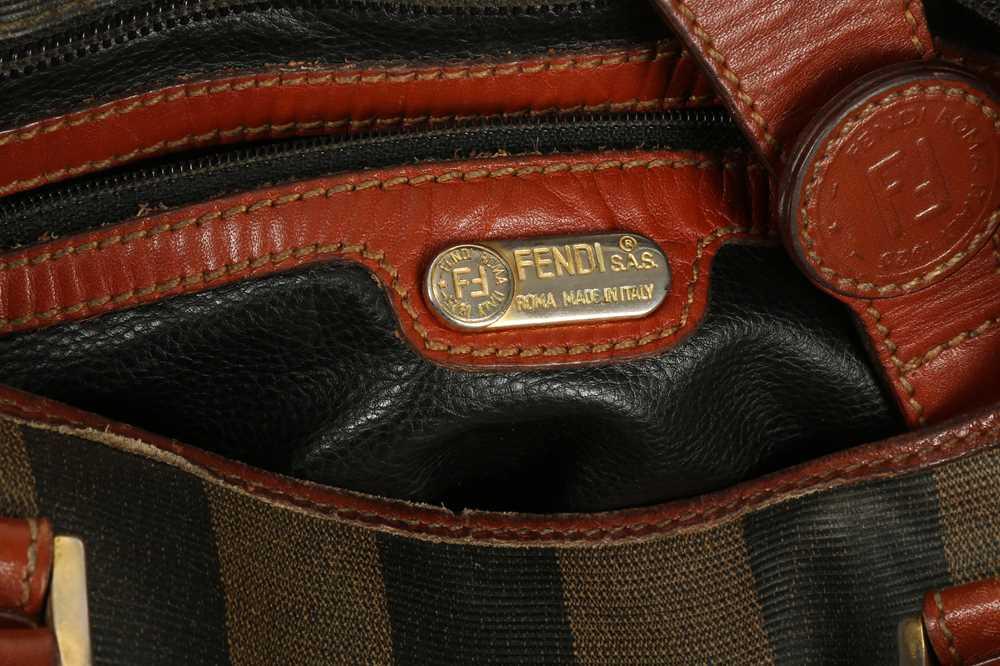 Fendi Vintage Pequin Stripe Bucket Bag - Image 4 of 5
