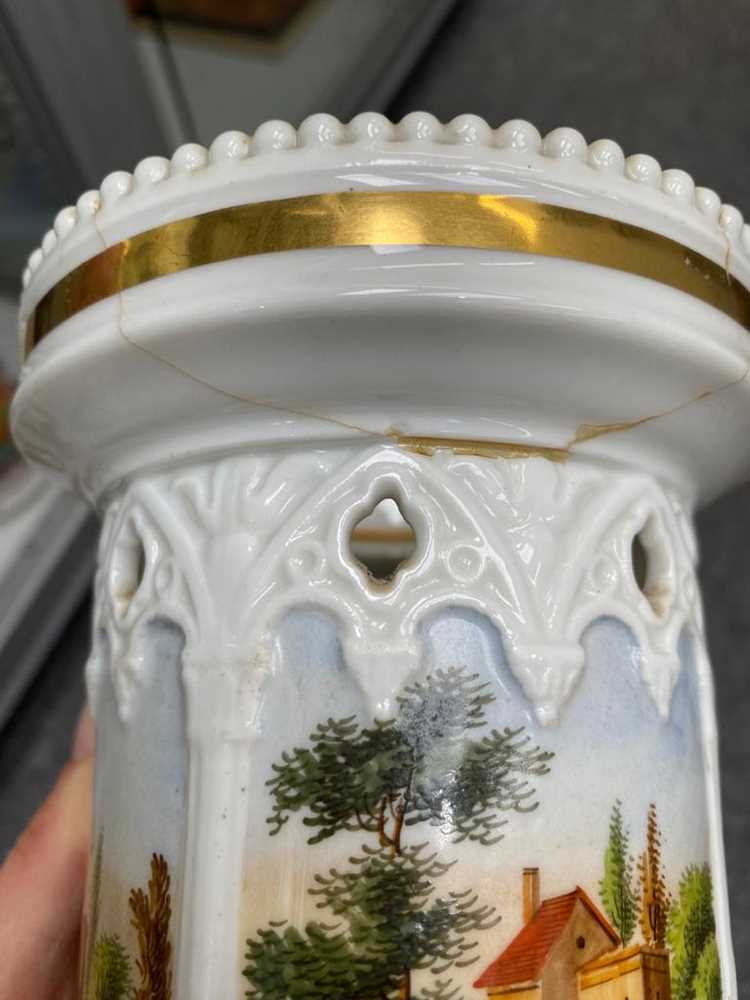 TWO FRENCH PORCELAIN COFFEE CANS, 19TH CENTURY - Image 7 of 12