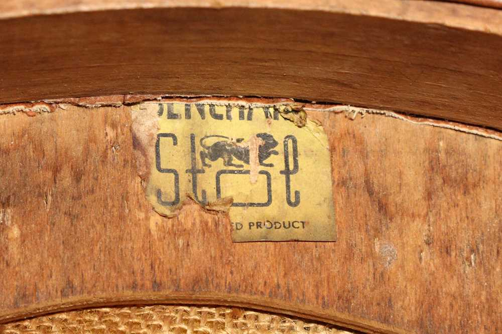 BENCHAIRS OF STOE, TWO PAIRS OF SIDE CHAIRS, CIRCA 1960S - Image 6 of 8
