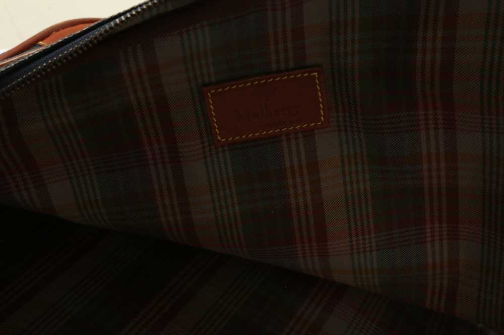 Two Vintage Suitcases Burberry Nova check and Mulberry - Image 10 of 10